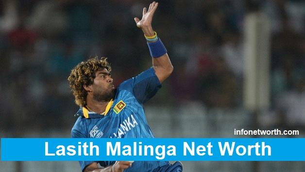 lasith malinga Net worth