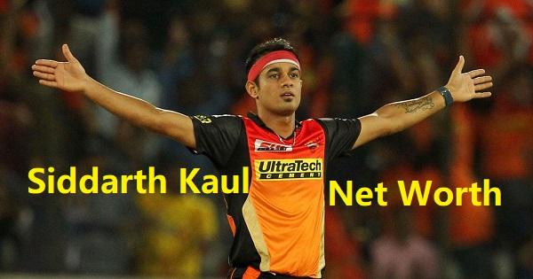 Siddarth Kaul Net Worth